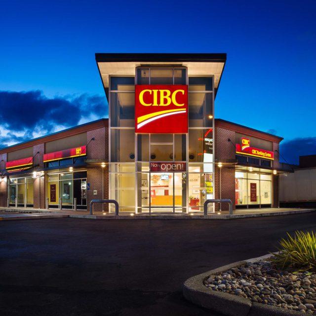 CIBC Bank Commercial Exterior Design | Summit Brooke Construction