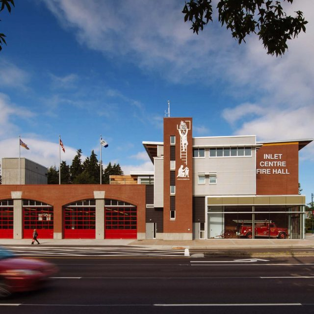 Inlet Centre Firehall Exterior | Chernoff Thompson Architects