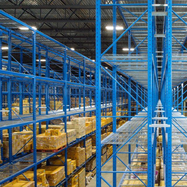 Industrial Warehouse Interior Architecture | Titan Construction
