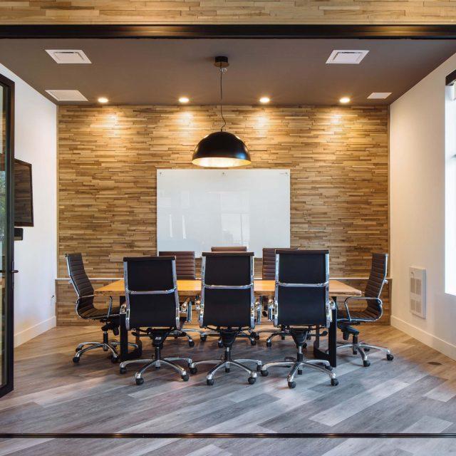 Kenorah Design + Build Office Boardroom Fort Langley