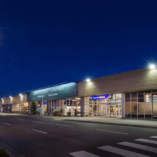 Abbotsford Airport Commercial Exterior Design | Summit Brooke Construction