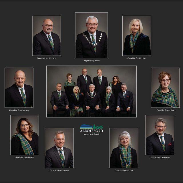 Abbotsford City Council 2018 Portraits