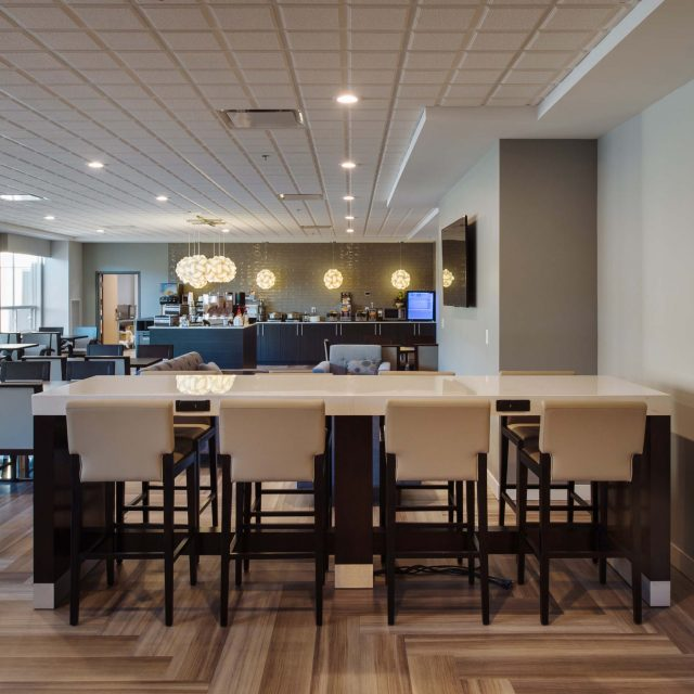 Merritt Hotel Interior Restaurant Design by Keystone Architecture