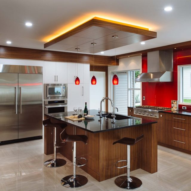 Modern Kitchen Interior by Kenorah Design + Build