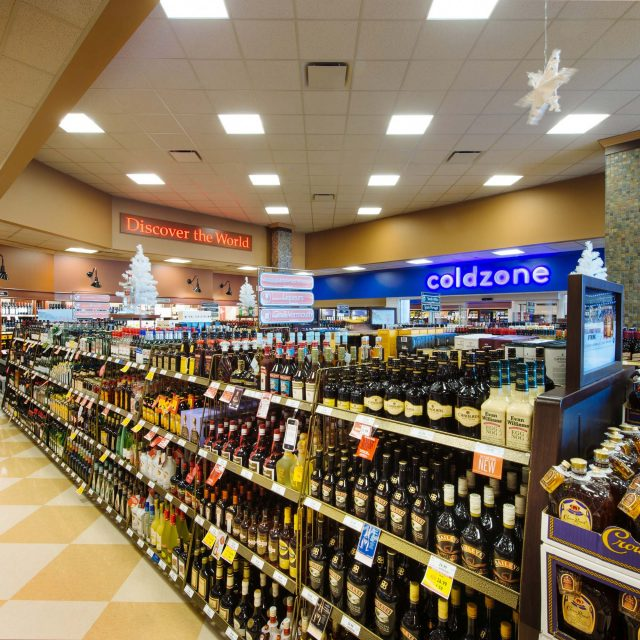 Liquor Store Interior by Summit Brooke Construction