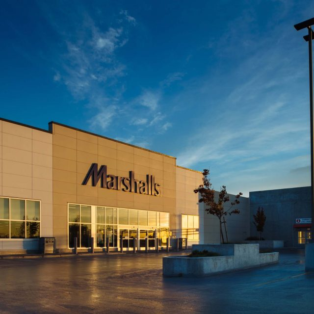 Marshall's Retail Store Exterior by Summit Brooke Construction
