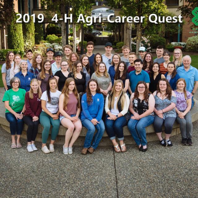 4-H Agri-Career Quest 2019 Group Portrait