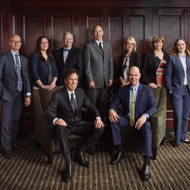 Bronson Jones & Co. LLP Lawyers Group Portrait