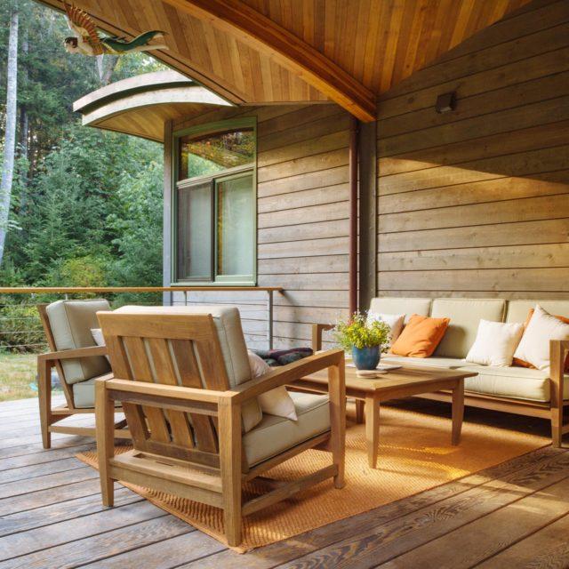 Custom Wood Frame Home Exterior Design
