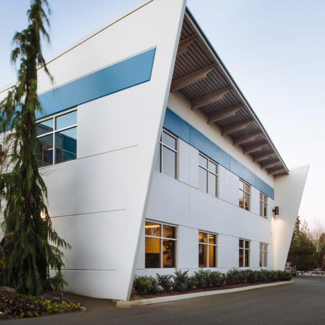 Commercial Exterior Architecture Design for Titan Construction