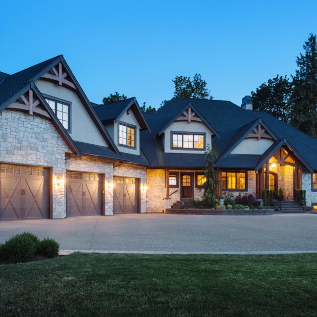 Traditional Home Design by Kenorah Design + Build