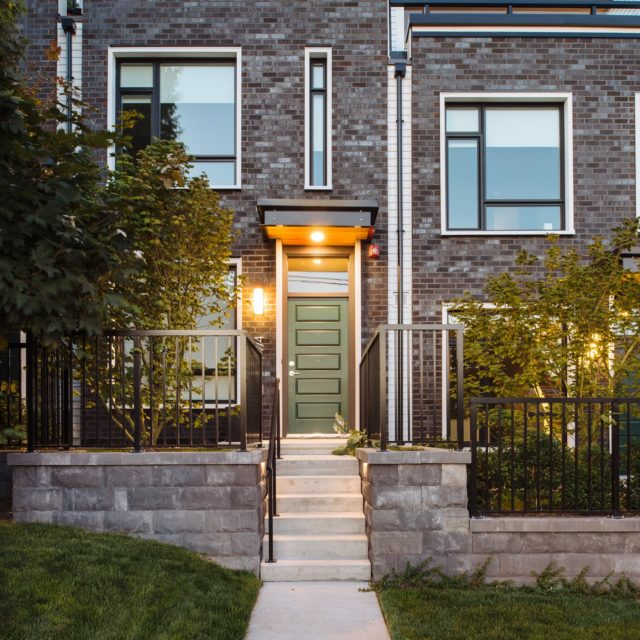 Rowhouse Architecture Design Vancouver by Shift Architecture