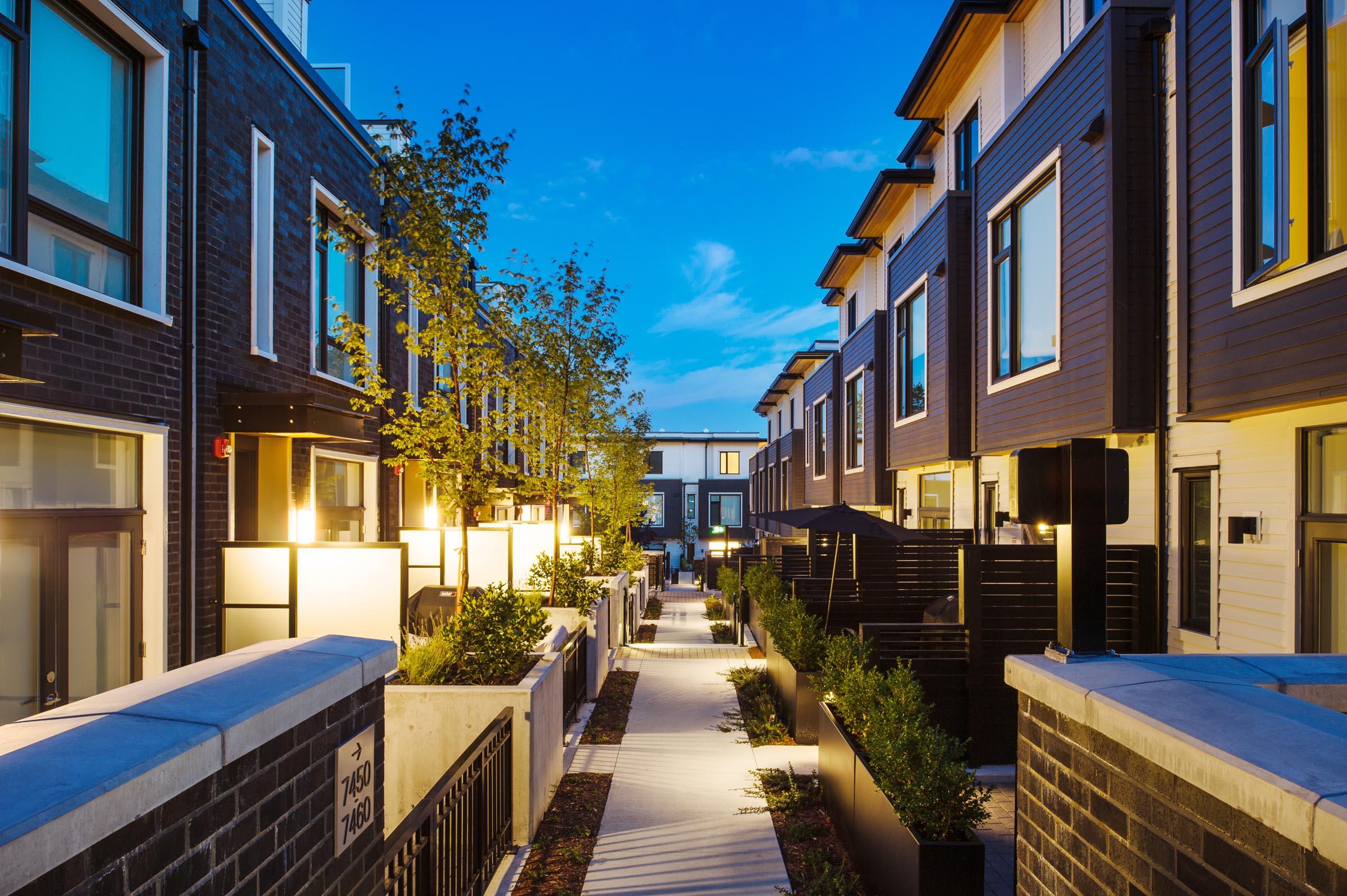Rowhouse Architecture Design Vancouver   Shift Architecture
