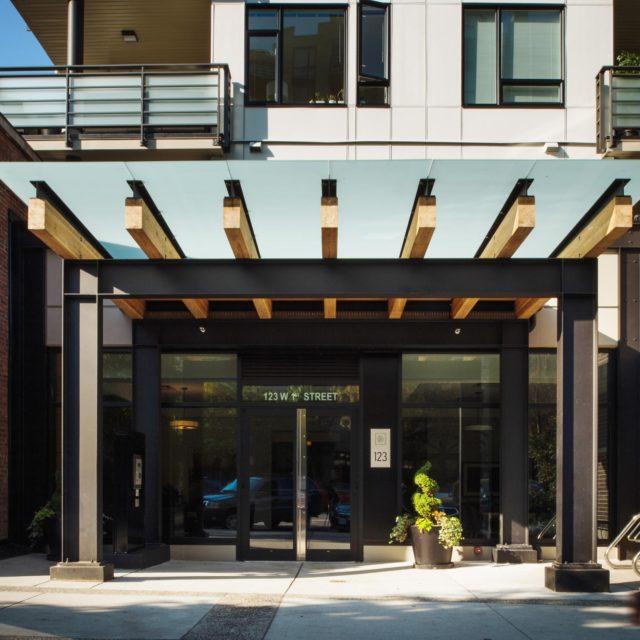 Condo Exterior by Shift Architecture