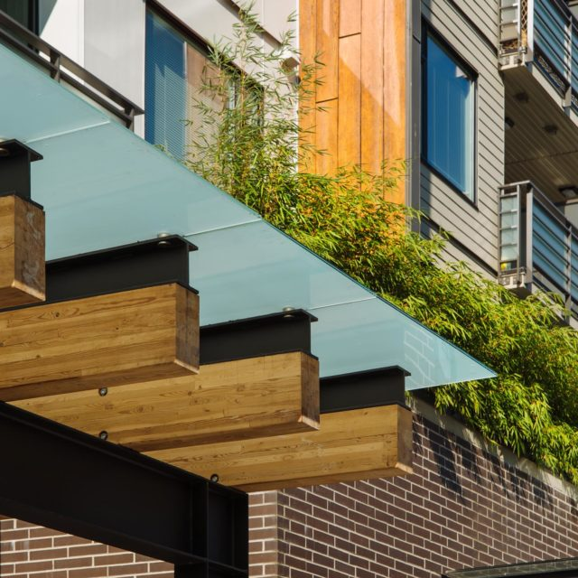 Exterior Commercial Architectural Detail by Shift Architecture
