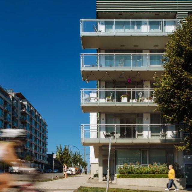 Contemporary Condo Exterior by Shift Architecture