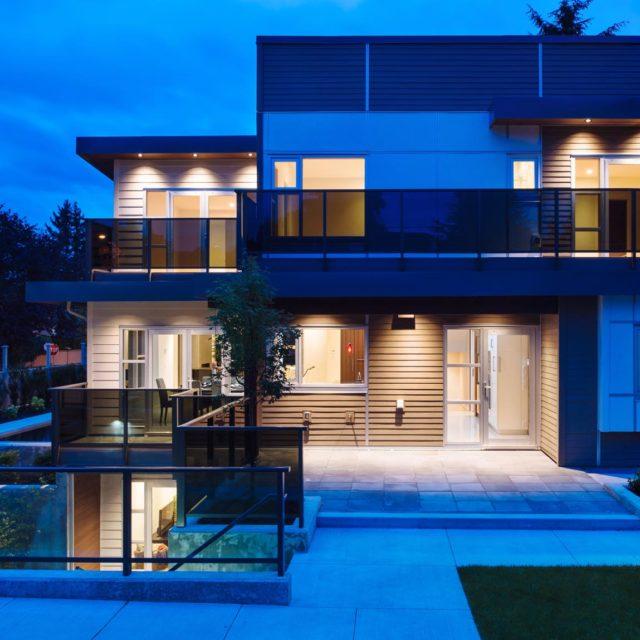 Custom Modern Home Exterior Design | Kenorah Design + Build