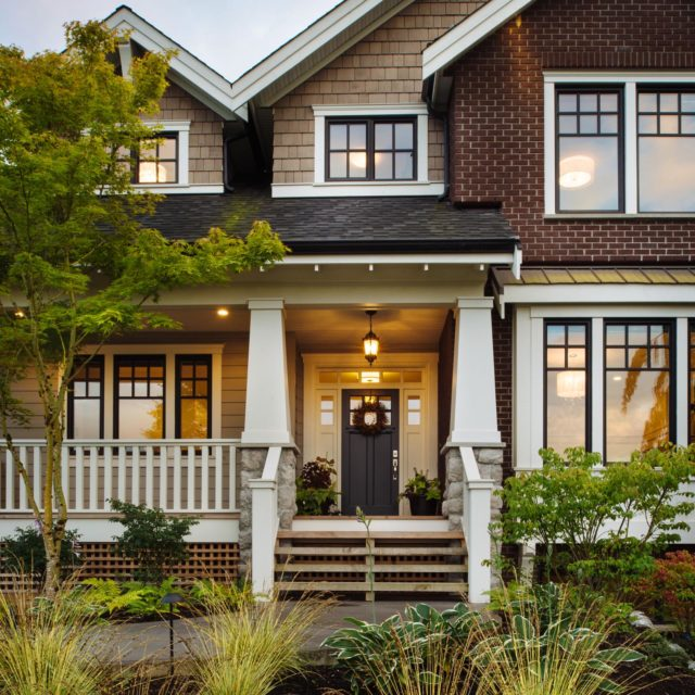 Custom Home Exterior by Rockridge Fine Homes