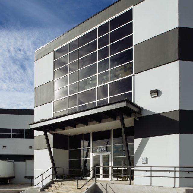 Industrial Warehouse Exterior Design for Titan Construction