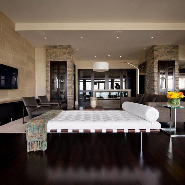 Luxury Modern Condominium Interior Design | Site Lines Architecture