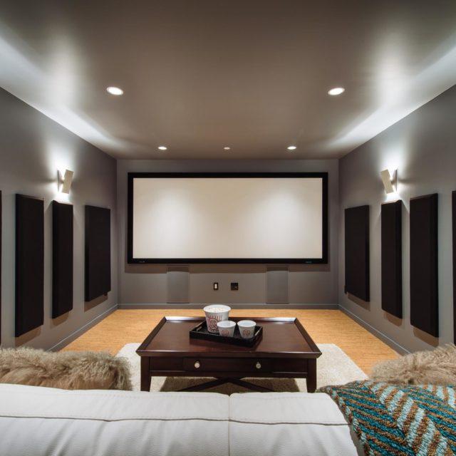 Custom Home Theatre Design | Kenorah Design + Build