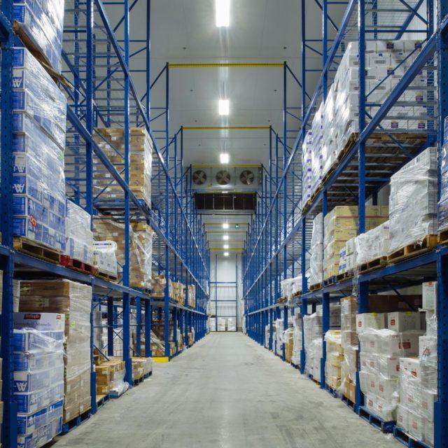 Warehouse Interior Photography | Titan Construction