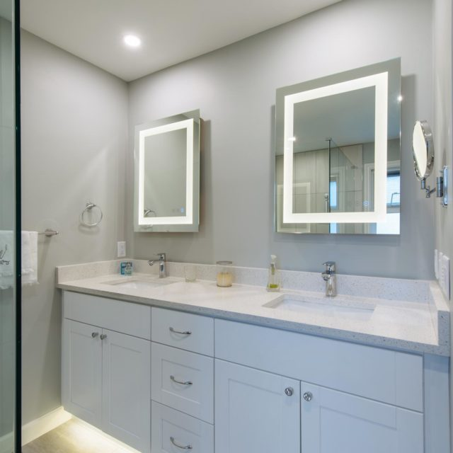 Custom Ensuite Renovation by Pro-Pack Contracting & Design