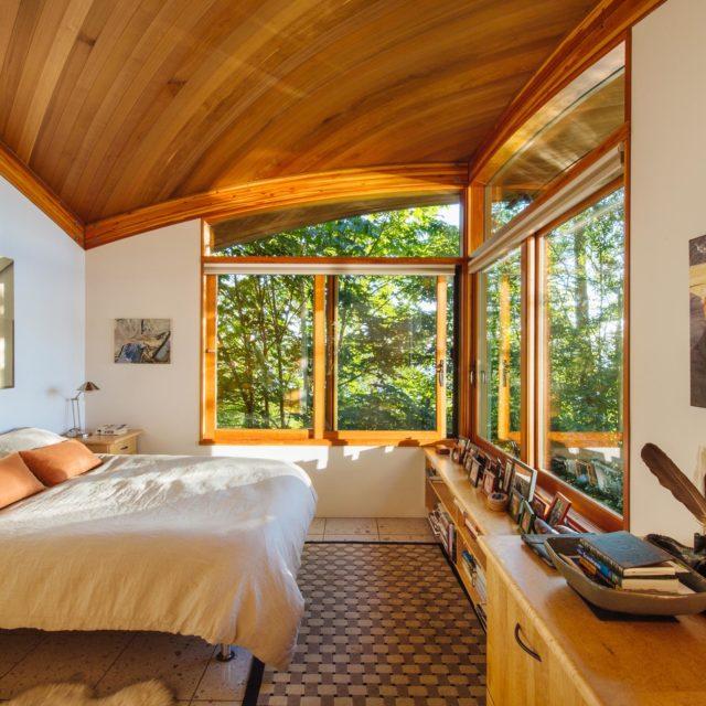 Custom Bedroom Interior on Vancouver Island