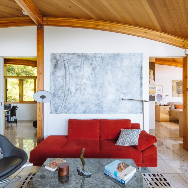 Custom Ocean View Home Interior